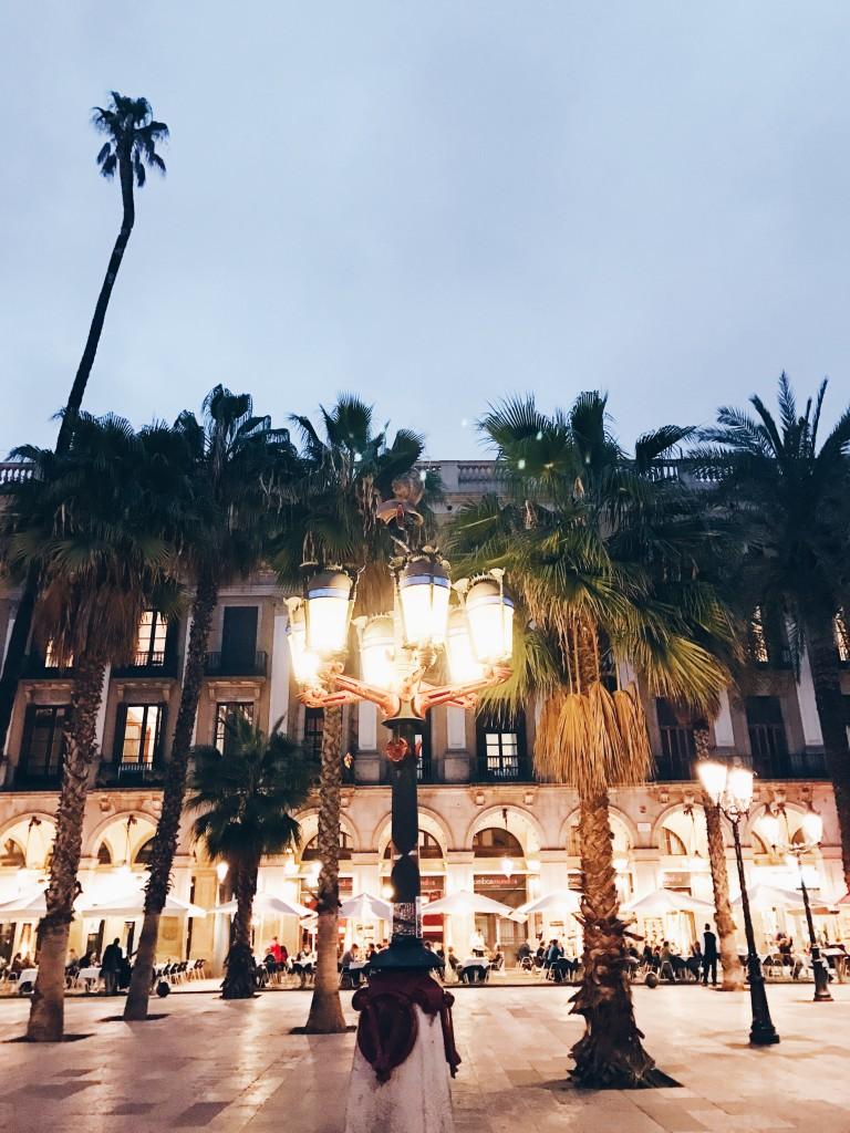 Barcellona - Plaza de la Reina