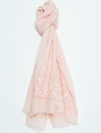 sciarpa rosa kiabi