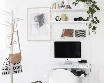 home office corner