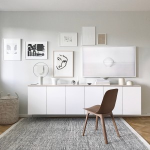 Ispirazione casa in stile nordico: la credenza