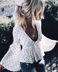 abbigliamento di tendenza