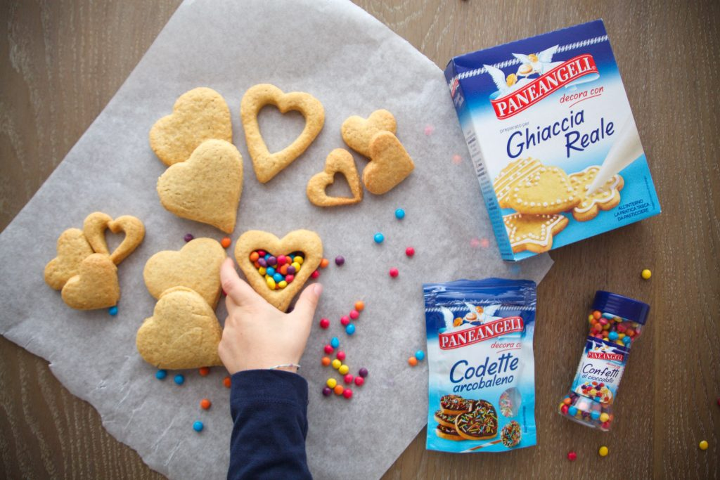 Biscotti con sorpresa, con farina di quinoa e farro integrale