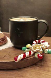 Colazione natalizia da Starbucks