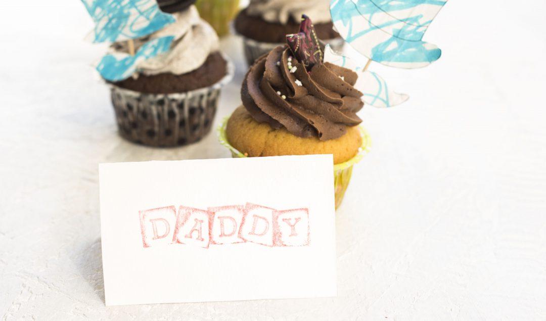Cupcakes per la festa del papà
