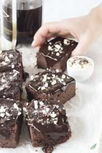 riciclare le uova: Brownies