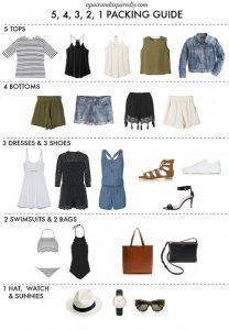 Cosa mettere in valigia per le vacanze