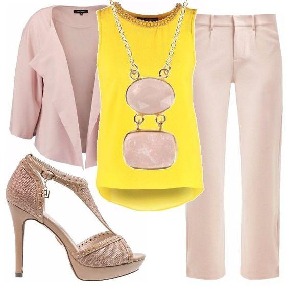 Rainbow mania rosa e giallo