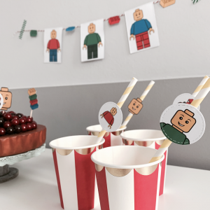 Free Printable LEGO Party Kit