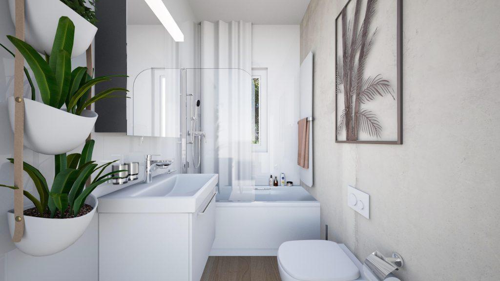 Come organizzare la zona bagno