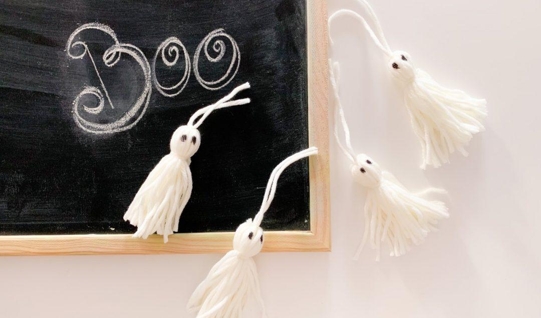 fantasmi di halloween handmade
